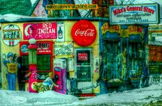 Mike's General Store - Winnipeg, Manitoba Local Photographers, General Store, Outdoors, Travel, Viajes, Trips, Exterior, Off Grid, Outdoor