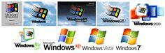 Evolution des logos de Windows