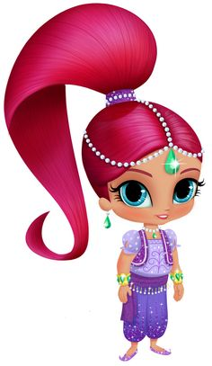 Shimmer and shine Shimmer And Shine Costume, Shimmer And Shine Cake, 4th Birthday Parties, Girl Birthday, Shimmer And Shine Characters, Barbie Party, Lol Dolls, Arabesque, Art Images