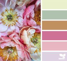 Yarn Palette: Charmed Flora - Crafting with Cat Hair Colour Pallette, Colour Schemes, Color Combos, Color Patterns, Pantone, Design Seeds, Color Concept, Flora Design, Beautiful Color Combinations