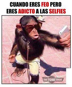 Cuando Eres Feo Pero Eres Adicto A Las Selfies
