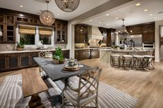 Make a lasting impression as you invite guests into your new luxury home from Porter Ranch, Palisades Collection, in Porter Ranch, Calif.