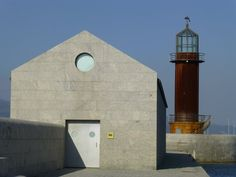 Aldo Rossi's Galician Museum of the Sea in Vigo