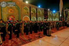 Atmosphere öf the shrine of MAULA A.S ON THE FIRST DAY OF #muharramulharam #ayameazaa #Twelver #AhleBayt