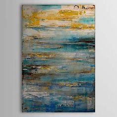 abstracto pintura al óleo 1303-ab0340 lienzo pintado a mano 2015 – €38.94