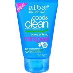 Alba Botanica Good And Clean Pore Porifying - 4 Oz