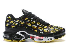finest selection b75b1 287fd Nike Air Max Plus QS Tn Officiel 2019 Chaussures de basket Homme Jaune noir  903827-