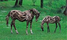 Galloping recycled art made from recycled drift wood! - Promoting Eco Friendly Lifestyle to Save Enviornment - Ecofriend