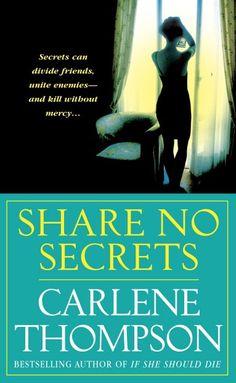 Carlene Thompson thriller...