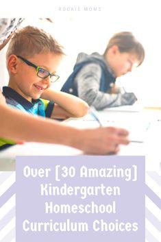 Over Amazing] Kindergarten Homeschool Curriculum Choices - Kindergarten Homeschool Curriculum, Preschool Activities, How To Start Homeschooling, Tot School, Home Schooling, Business For Kids, Kids Education, Big Kids, Elementary Schools