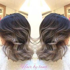 Cabello Gris, Para El Año 2016, Peinados Pelo, Tintes, Ombre Pelo Corto, Lunes 19, Corto Peinado, Color Corto, Mirar