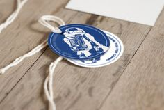 Star Wars / R2D2 favor tags  Star Wars party  by AProductOfDesign