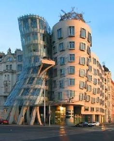 Dancing Building Prague  #architecture #Frank #Gehry Pinned by www.modlar.com