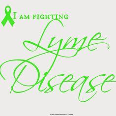 Show your support to those with Lyme Disease.