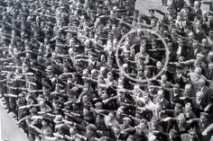 August Landmesser, the man who refused to give the Nazi salute. In at the height of Nazism, this man refused to give the Nazi salute during the launch of a Navy ship in the shipyard in Hamburg where he worked. August Landmesser belonged to the. August Landmesser, Joe Masseria, Rare Historical Photos, Rare Photos, Vintage Photos, Iconic Photos, Nikola Tesla, World History, World War