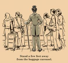 How to Fly Like a Gentleman