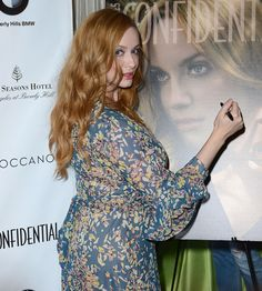 Christina Hendricks - Los Angeles Confindential Magazine Celebrates the Women Of Influene Issue in Beverly Hills
