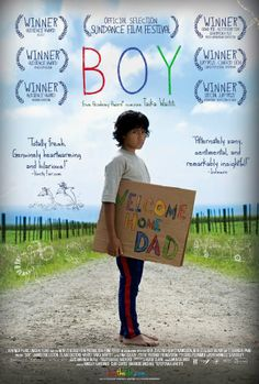 can't wait to see 'Boy' - from the minds behind Flight of the Conchords - sure to be sweetly hilarious!