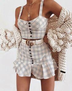 Cute Fashion Ideas That Make You Look Cool Teen Fashion Outfits, Mode Outfits, Girly Outfits, Cute Casual Outfits, Cute Fashion, Look Fashion, Pretty Outfits, Stylish Outfits, Summer Outfits