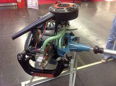 DAF 44 Variomatic 844cc engine