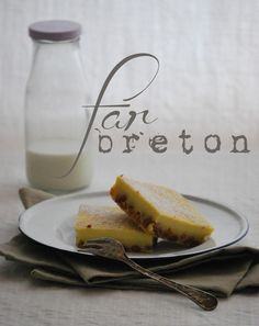 Far Breton a l'Orange