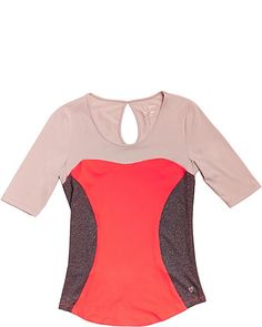 Image result for betsey johnson colorblock workout top