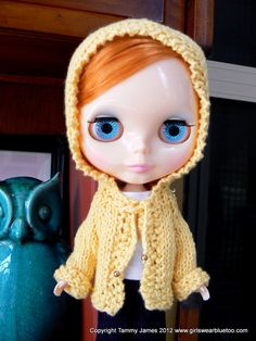 Reduced - Blythe knitted Hoodie.