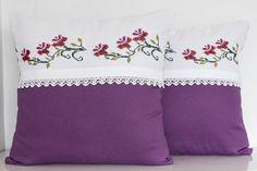 Vintage Decorative Handmade Pillow Vintage by TheSilknCotton