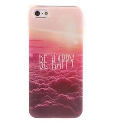 COQUE IPHONE 4 4S - BE HAPPY
