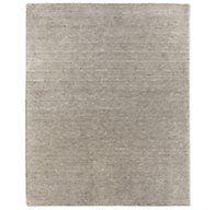 Striated Plush Wool Rug - Grey | | Restoration Hardware