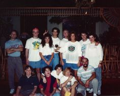 1980s Clean up crew for the start of the year at Cagneys. Great people, great memories.