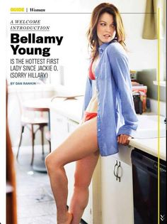 Oh, Bellamy Young... But Mellie Grant is my favourite character on Scandal