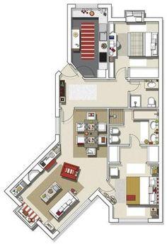 casa-practica-y-con-estilo-11 http://patriciaalberca.blogspot.com.es/