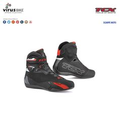 """Scarpe moto TCX """"Rush"""" nero"""