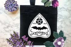 Handmade Witchcraft & Wiccan Supplies by WytchcraftTas Witchcraft Supplies, Ouija, Black Tote Bag, Reusable Tote Bags, Candles, Unique Jewelry, Handmade Gifts, Vintage, Kid Craft Gifts
