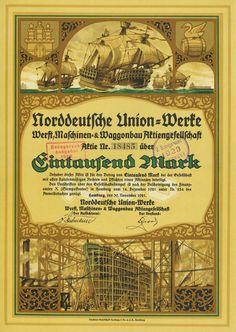Norddeutsche Union-Werke Werft, Maschinen- & Waggonbau-AG