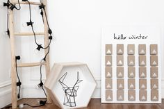 7 Ways to Make an Advent Calendar - Petit & Small Christmas Hanukkah, Christmas Crafts, Christmas Ideas, Make An Advent Calendar, Advent Calendars, Weekend Projects, Christmas Is Coming, Merry And Bright, Xmas Decorations