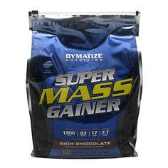 Dymatize Super Mass Gainer Rich Chocolate - 12 LBS #fitness #healthy #health #sports #fitnessmodel #gym