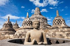 15 of the world's most incredible UNESCO sites – and why you should visit them Borobudur Temple, Boracay Island, Asian Games, Buddhist Temple, Medan, Pilgrim, Buddhism, Royalty Free Images, Places To Travel