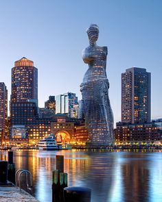 The Winged Victory Of Samothrace Could One Day Dominate Your City's Skyline   Yatzer