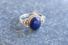 Lapis Lazuli Ring Oval,Lapis Ring, Silver ring by AristaBeads on Etsy https://www.etsy.com/listing/254055899/lapis-lazuli-ring-ovallapis-ring-silver