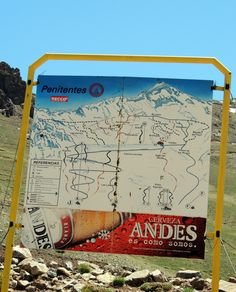 Los Penitentes ski area, Arg-Chile border between Santiago / Mendoza