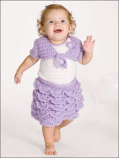 Baby Ruffles- Love this little skirt... I just need to work on my skills :)