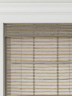 jcp home™ Natural Woven Cordless Roman Shade - jcpenney