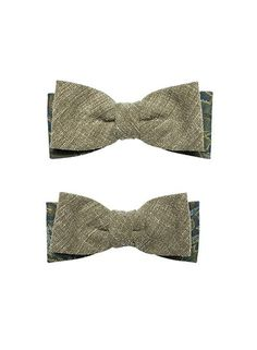 Father & Son Bow tie Will and Jaden by Bowking