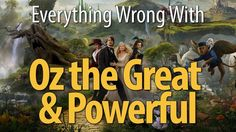 Everything Wrong With Oz The Great And Powerful. They forgot to tell us Michigan tax payers, we spent to much on this movie. 80 million dollars and we don't even get a copy of the film.