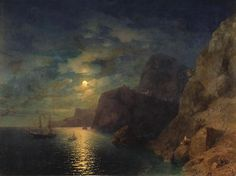 Sea at night, 1861, Ivan Aivazovski