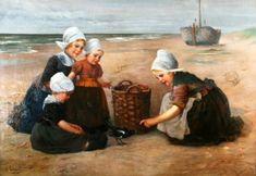 On the Beach Edmond Louyot