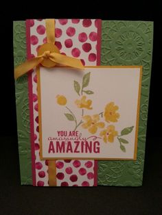Painted petals stamp set and DSP, just beautiful