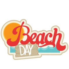 Image result for beach day clipart